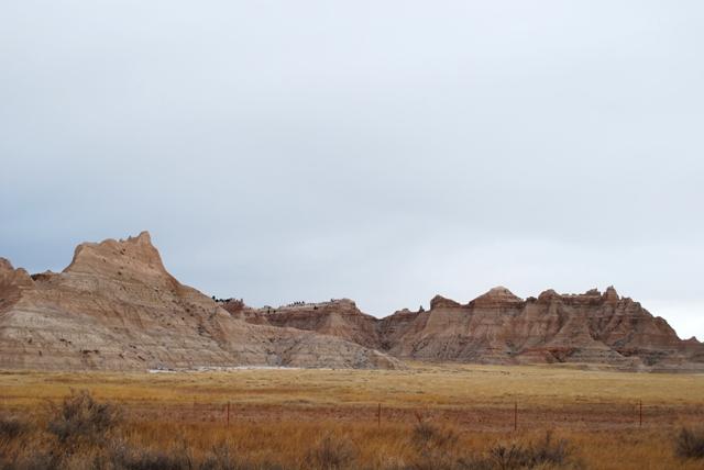 Photo of Badlands Scenery.
